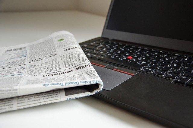 新聞 パソコン